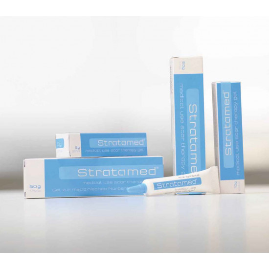 Stratamed First Silicone based product for Abnormal Scar Prevention and Treatment for use on Open Wounds and Compromised skin