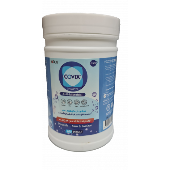 Covix DISINFECTING WIPES 200 WIPES